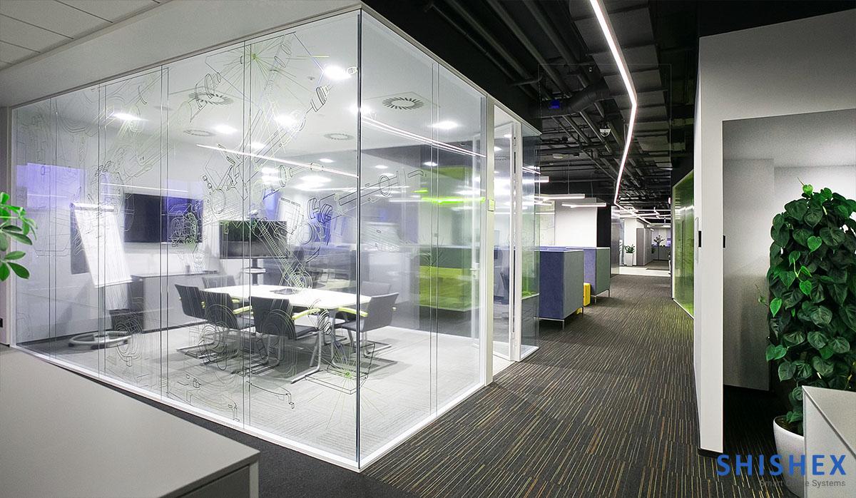 پارتیشن برای ساختمان اداری